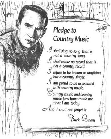Happy Birthday Buck Owens A Natural Class Act
