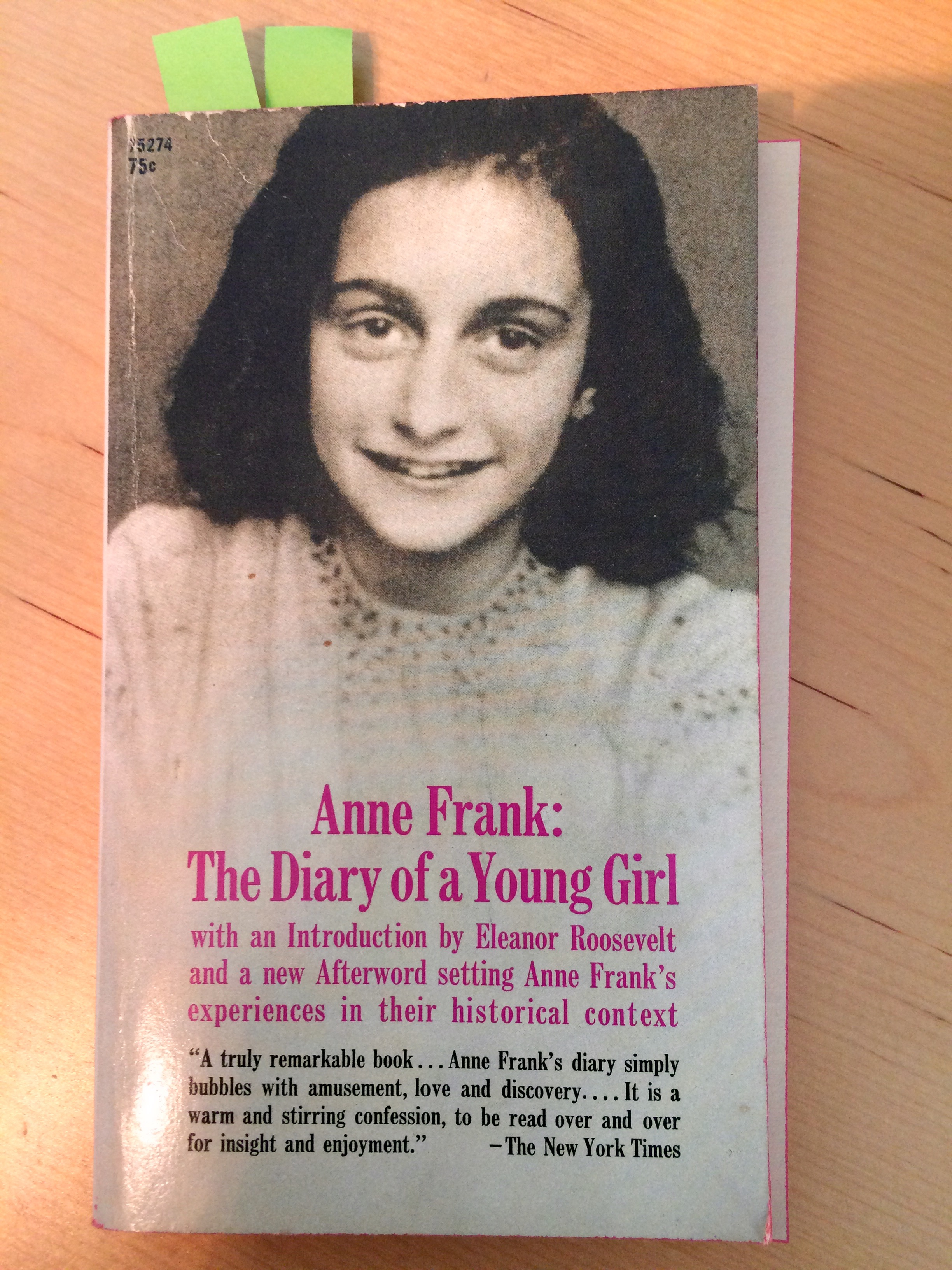 anne diary essay frank girl young