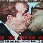 "Berlin Wall: ""The Kiss""  hipquotient.com"