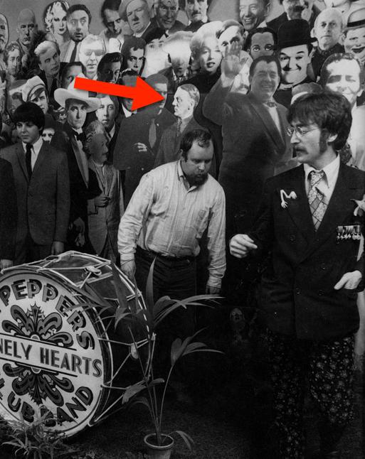 Sgt. Pepper's cover - Hitler didn't make the final cut